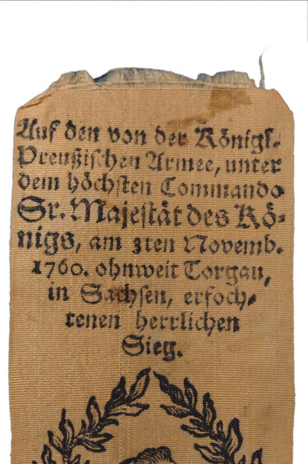 Auf die Schlacht bei Torgau, d. 3. Nov. 1760