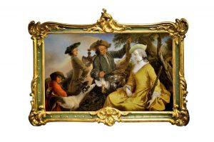 Jagdgesellschaft 18. Jahrhundert