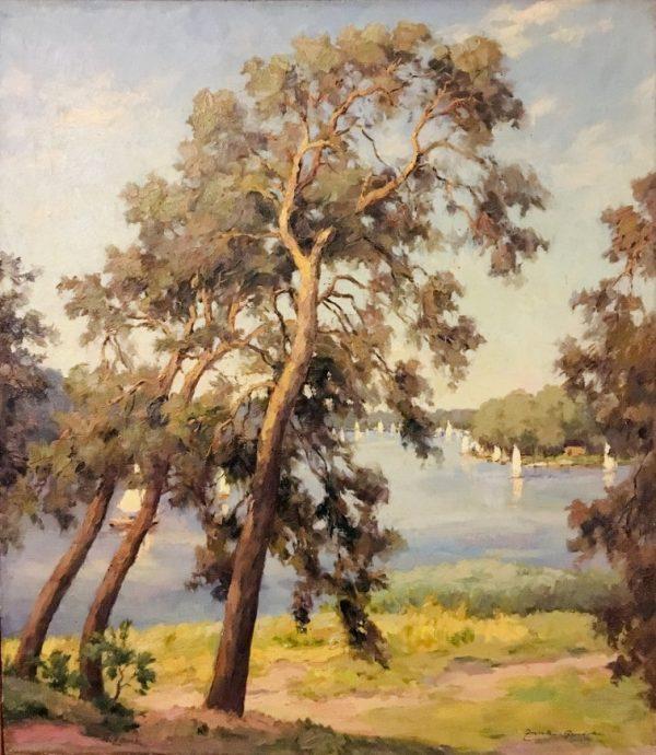 Maler, antikes Gemälde