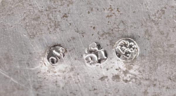 Zuckerdose, Silber, Breslau