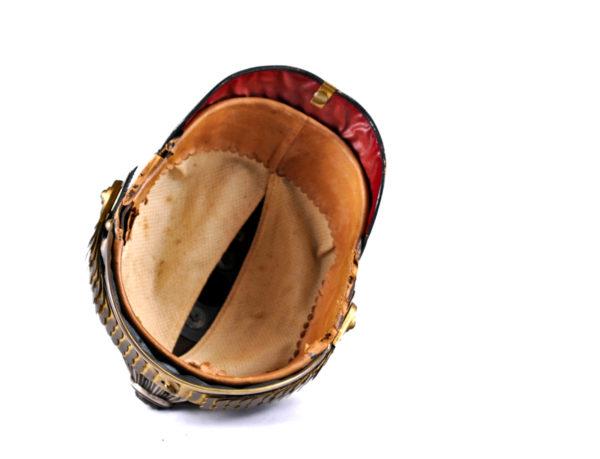Helm für Offiziere der 4. Batterie des Garde-Fußartillerie-Regiments