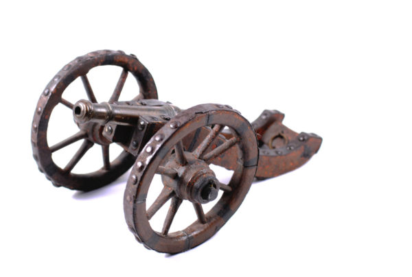 Model cannons German, 17./18. Century