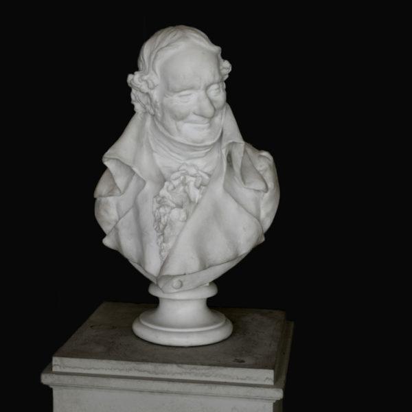 Skulptur aus Carraramarmor von Cencetti