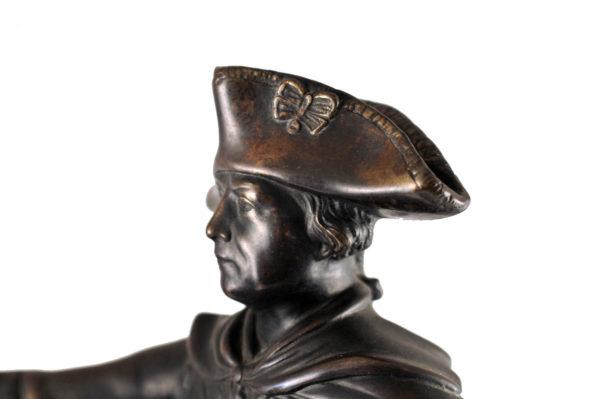 Bronze sculpture - Frederick the Great on horseback