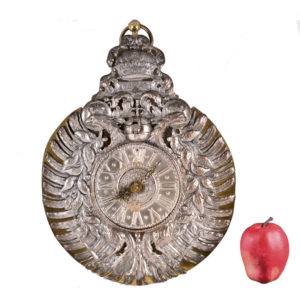 Plate clock from the Princely House of Schwarzburg-Sondershausen